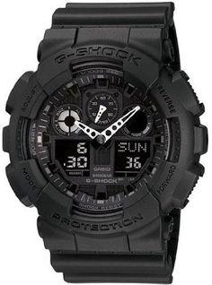 G-Shock Big Combination Military Watch - Matte Black $104.99... I know it's a men's watch but I so want one!
