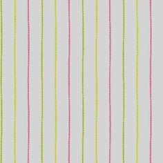 Behang, fris streepje, licht- en donkergroen en roze  De Nooy sinds 1754