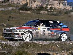 Lancia Delta Monte Carlo Rally
