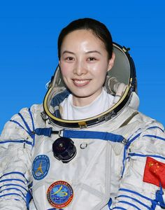 China's second woman astronaut when she launched as part of the three-person crew of Shenzhou 10. June 13, 2013