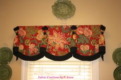 Queen Anne Valance by Fabric Creations