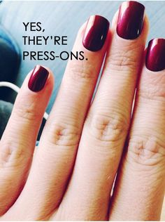 A drug-store beauty steal! These press-on nails are easy to apply, easily last a week and only cost $7 at your local Target!