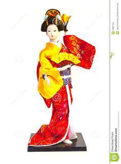 Geisha Doll Stock Photos - Image: 16987763