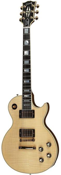 Gibson Custom 1968 Les Paul custom flame top electric guitar