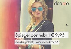 #Spiegel #Zonnebril! De musthave voor de festivals! http://www.doorzo.nl/spiegel-zonnebrillen-zomer-trend2014/