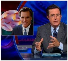 """""""The math behind how Romney can give everyone a 20% tax cut without bankrupting the government is just way too advanced for us regular folk to understand. It's unfathomably complex, like string theory. You'd have to grasp that the universe is actually 11 coexistent dimensions, eight of which is where Romney shelters his wealth."""" -- Stephen Colbert"""