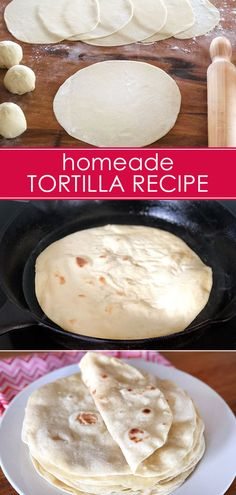 A simple, budget friendly homemade tortilla recipe that makes a perfect addition to Taco Tuesday! #tortilla #tortillarecipe #homemadetortillas
