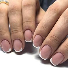 Ideas For French Manicure Natural Nails Art Designs French Nails, Sparkle French Manicure, Summer Acrylic Nails, Acrylic Nail Art, Glitter Nail Art, Manicure Colors, Nail Manicure, Natural Nail Art, Nails Only