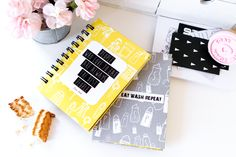 cookbook, handmade notebook