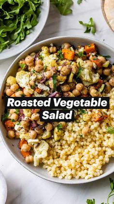 Veggie Recipes, Whole Food Recipes, Diet Recipes, Vegetarian Recipes, Cooking Recipes, Healthy Recipes, Vegetarian Salad, Couscous Recipes, Salad Recipes For Dinner