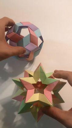 Diy Crafts For Girls, Diy Crafts To Do, Diy Crafts Hacks, Diy Arts And Crafts, Cute Crafts, Diys, Cool Paper Crafts, Paper Crafts Origami, Origami Paper