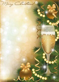 Set of Golden Xmas card design vector graphics 03 Christmas Scenes, All Things Christmas, Christmas Time, Christmas Wreaths, Christmas Decorations, Winter Wallpaper, Christmas Wallpaper, Xmas Frames, Photo Frame Design
