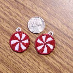 FSL Mini Mints Earrings Machine Embroidery Design