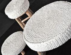 Como decorar banquinhos - Reciclar e Decorar - Blog de Decoração e Reciclagem
