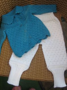 Cardigan in babywool