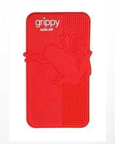Grippy pad mobile phone holder - Red GIZZYS http://www.amazon.com/dp/B007KJI18W/ref=cm_sw_r_pi_dp_-g0gwb000KSFH