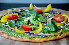 Cauliflower crust pizza (Julia&Libby style)