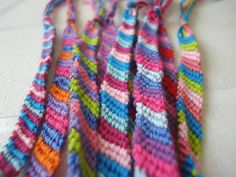 The Crafts: Use a friendship bracelet how-to book for a fun activity that everyone will love, especially since the craft from our 90s childhood is back in style! Or if you dont have time, buy some already made friendship bracelets for your guests to take home.