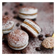 Macaron Café, Ganache Macaron, Almond Shell, Blog Patisserie, Biscuits, Food And Drink, Nutrition, Sweets, Meals
