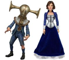 First Two BioShock Infinite Action Figure Toys Revealed