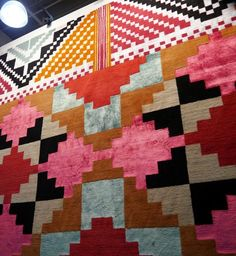 Rugs from Inigo Elizalde at ICFF 2012. via Design Sponge
