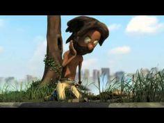 A Ilha (2008) Brasil [Animação] Curta Metragem - / The Island (2008) Brazil [Animation] Short Film.