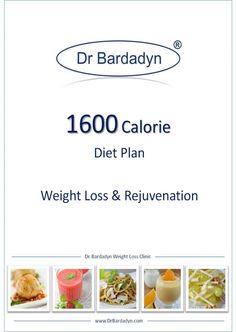 1600 calorie diet plan - rejuvenation