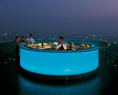 Sirocco Bar Bangkok. Best view of the city by far.