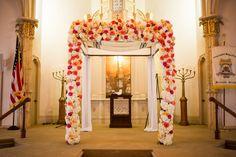 SAVANNAH WEDDING - Jewish wedding ceremony chupah at Mickve Israel Synagogue by Anna and Spencer Photography