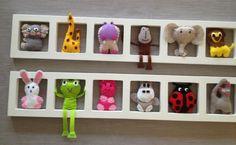Décoration chambre enfant et bébé unique et origniale - animaux colore…