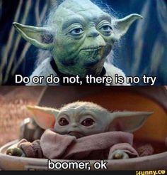 101 Inspirational Yoda Quotes from the Jedi Master Yoda Meme, Yoda Funny, Best Memes, Dankest Memes, Jokes, Stupid Funny, Hilarious, Funny Stuff, Stupid Memes