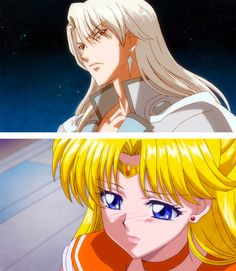 Minako (Sailor Venus) & Kunzite (Sailor Moon Crystal)
