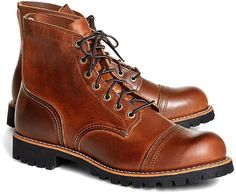 Red Wing for Brooks Brothers 4556 Iron Ranger Boots