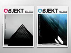 Objekt Magazine by Kristopher Hughes, via Behance