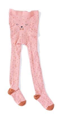 Bonheur Du Jour Lili tights in Pink | Scandi Mini