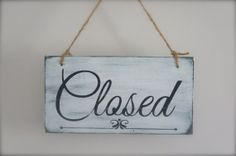 Business Sign Custom Sign Open/Closed Sign Wall Art by InMind4U