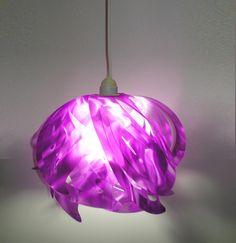 Ali Hanging Pendant Lamp in Purple.