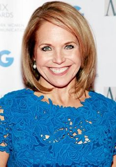 Katie Couric ~ was born 01-07-1957 and named Katherine Anne Couric.   She is a Television Journalist.  She's in her Fifties & is Fabulous.