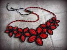 http://polandhandmade.pl/ #polandhandmade, #makrama, #makramik, #necklace, #micro-macrame
