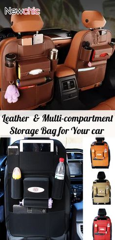 52% OFF #Leather #CarStorage Bag Multi-compartment Storage Container Outdoors Hanging Bag  #newcar Looking for a great Lego storage solution?  Check out the BOX4BLOX 2.0 Lego storage organizer that is now live on Kickstarter...