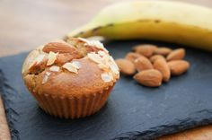 Recette : Muffins Paléo Amandes Banane
