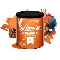 Café Décaféiné - PURE ORIGINE  Tout simplement le Colombie Excelso avec la caféine en moins. Je vous met au défi de trouver une différence gustative entre notre Colombie Excelso et notre Colombie décaféiné (dites-nous ce que vous en pensez en commentaire). Ceci est dû à notre procédé de décaféination naturelle à l'eau des montagnes sans solvant. 100% Arabica  #myspresso #torréfactionartisanele #caféengrains #christopheservell #pureorigine
