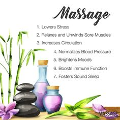 The wonders of massage