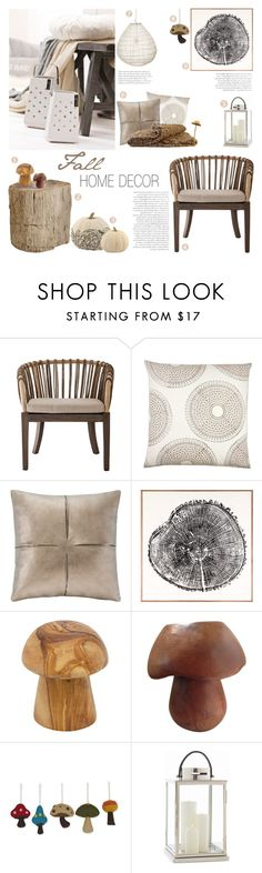 """Fall Home Decor"" by c-silla on Polyvore featuring interior, interiors, interior design, home, home decor, interior decorating, John Robshaw, Madison Park, Natural Curiosities and NOVICA"