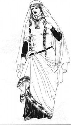 Gilla - mother of The Dragonfly Chronicles heroines 12th-Century Woman