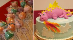 Just love this cute cake at this Bouncing Dragon Party. This site is a great source for party ideas. Dino Cake, Dinosaur Cake, Dragon Birthday, Dragon Party, Dragon Baby Shower, Baby Dragon, Boy Birthday Parties, Birthday Ideas, Birthday Celebrations