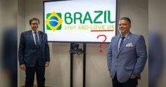 Logo Branding, Brazil, Nova, Logo Design, Logos, Tourism