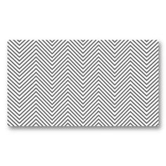 GRAY and WHITE CHEVRON PATTERN Customizable Business Card for Bloggers