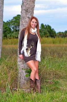 Sporty Girl Apparel - Brown Deer Sweater dress , $43.95 (http://www.sportygirlapparel.com/brown-deer-sweater-dress/)