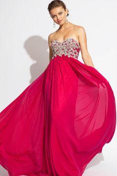 A-line Jovani floor length dress